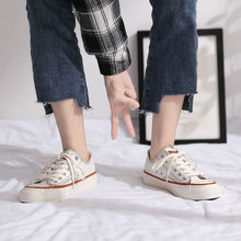 Spring Canvas Shoes Female 2019 New Student Korean White Shoes