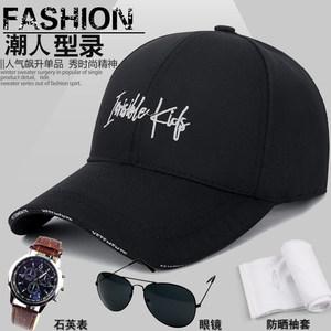 夏天帽子男女时尚帽棒球帽防晒遮阳太阳帽户外透气鸭舌帽运动帽