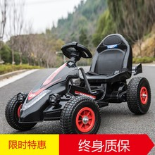 Children's electric car four-wheeled kart can sit men and women baby remote control toy car inflatable wheel kids motorcycle