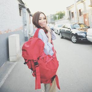 时尚运动包双肩包女<span class=H>背包</span>男行李包旅行包旅游登山大容量韩版潮轻便