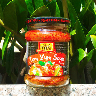 泰国Real Thai Tom Yum Soup Paste丽尔泰冬荫功酱227g