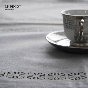 [合]防水<span class=H>桌旗</span> 时尚餐桌布艺餐桌垫 结婚庆礼品床旗 防污 红色灰色