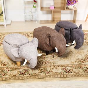大象换鞋凳 创意沙发凳 储物凳<span class=H>矮凳</span>收纳凳卡通凳 试鞋凳 收纳脚凳