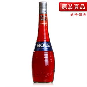 荷兰原装进口 波士草莓味<span class=H>力娇酒</span>/BOLS STRAW BERRY LIQUEUR/甜酒