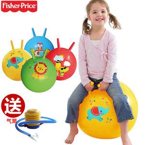 2-4-6岁幼儿园运动<span class=H>羊角球</span>充气玩具跳跳马加厚儿童弹力跳跳球户外