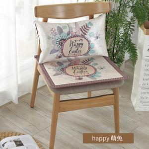 领5元券购买夏季椅垫夏天透气椅子冰丝坐垫防滑学生卡通凉席餐垫办公室座垫子