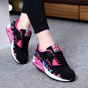 2018春季新款运动鞋女轻便透气百搭休闲跑步鞋女鞋中学生平底<span class=H>单鞋</span>