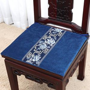 艺必旭中式古典家具沙发垫<span class=H>坐垫</span>红木椅子座垫加厚海绵椅垫定做定制
