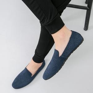 夏季透气镂空<span class=H>洞洞</span><span class=H>鞋</span>男士懒人<span class=H>鞋</span>软面皮豆豆<span class=H>鞋</span>英伦白色小皮<span class=H>鞋</span><span class=H>男鞋</span>子