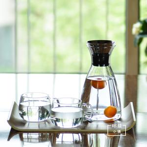 丹麦风格凉水壶凉水杯<span class=H>冷水壶</span>耐热玻璃壶大容量果汁杯茶壶水杯套装