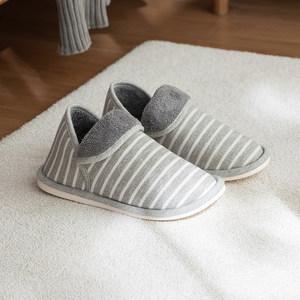 冬季加绒加厚底全包跟棉<span class=H>拖鞋</span>家用保暖居家毛毛鞋室内男女情侣防滑
