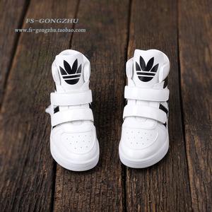 2019春季新款儿童运动鞋女童高帮旅游休闲鞋男童白色学生透气板鞋