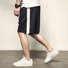 Men's Track Summer New Japanese Fashion Men's Sports Five-Point Pants Loose and Big Pants Original American Leisure Shorts