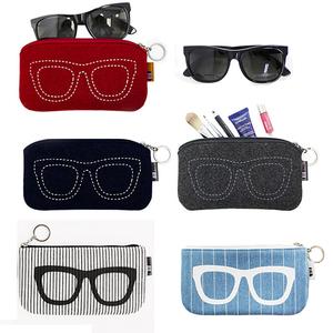 韩国旅行创意太阳镜袋墨镜<span class=H>袋子</span> 眼睛袋 <span class=H>眼镜</span>袋收纳包男女