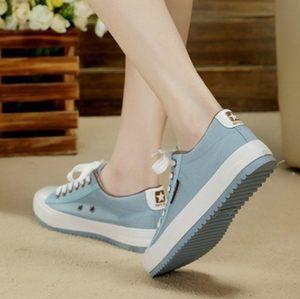 新款韩版春夏帆布鞋女学生<span class=H>低帮鞋</span>休闲鞋子平跟板鞋潮女鞋平底布鞋