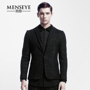 Menseye/男眼 FF 风尚都市优雅<span class=H>男装</span>羊毛呢西服15d