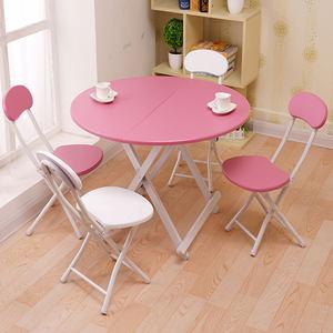 可折叠<span class=H>桌子</span>简易家用小餐桌手提正方形桌小户型吃饭圆桌摆摊户外