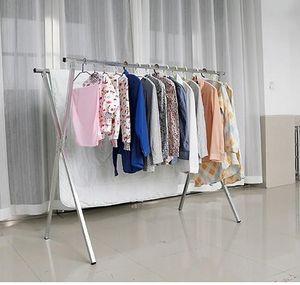 摆地摊卖衣服的小货架子多功能衣架摆摊用可折叠移动卖围巾<span class=H>展示架</span>