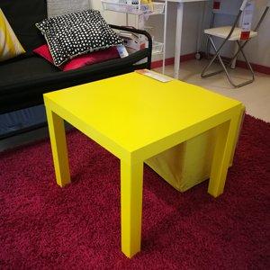 【IKEA/<span class=H>宜家</span>国内代购】拉克 边桌简约小<span class=H>方桌</span>小儿童桌子小茶几方几