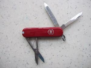 正品现货维氏<span class=H>瑞士军刀</span>58MM典范光面多色0.6203户外多功能刀水果刀