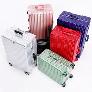 铝框行李箱女万向轮拉杆箱20男韩版密码箱包24皮箱子28寸<span class=H>旅行箱</span>26