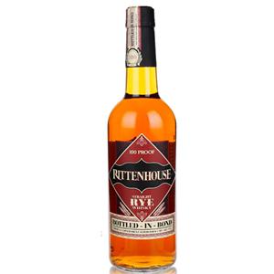 Rittenhouse Straight Rye Whiskey 美国 瑞顿房 黑麦<span class=H>威士忌</span> 50度