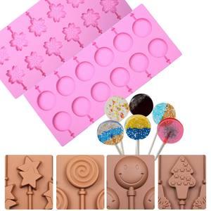 做糖果的<span class=H>模具</span>自制手工棒棒糖diy材料硅胶家用<span class=H>巧克力</span>原料工具