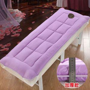 美容院<span class=H>床垫</span><span class=H>床褥</span>保<span class=H>护垫</span>推拿按摩美容<span class=H>床垫</span>褥子防滑加厚保暖带洞垫被