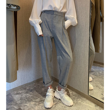 Nancycavally Xiaojingjia Spring 2019 New Chic Style Small Pants Loose Slim Leisure Pants