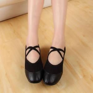 亏本清仓美丽雅2017春夏季教师鞋跳舞舞蹈女式布鞋新款芭蕾舞鞋
