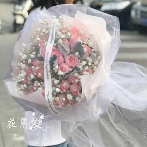 成都同城<span class=H>鲜花</span>速递红玫瑰花束礼盒全国重庆武汉南京杭州西安订花