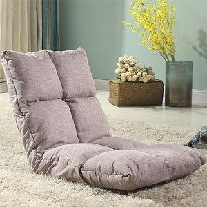 日式多功能布艺懒人沙发榻榻米床上垫双三人无腿靠背椅卧室小沙发