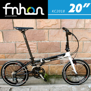 77bike车友推荐 fnhon风行 KC2018组装整车 20寸折叠<span class=H>自行车</span> 精调
