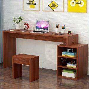 简易电脑长条<span class=H>办公桌</span>窄桌家用学习桌写字台卧室书桌长方形桌子条桌
