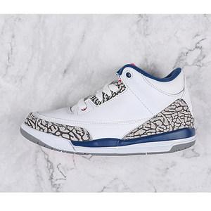 <span class=H>Nike</span>耐克童鞋Air Jordan 3 <span class=H>白水泥</span>气垫篮球幼童运动鞋832033-106