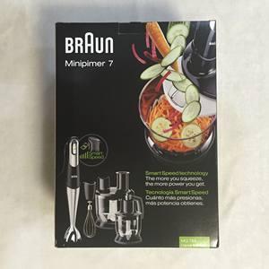 <span class=H>德国</span>Braun/<span class=H>博朗</span> MQ785/9037X/9087X手持<span class=H>料理棒</span>料理搅拌机辅食机
