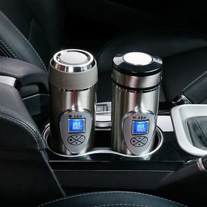 车载烧水壶 水杯加热杯电热杯 汽车热水壶12v烧开水小车用热水器