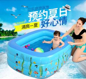 充气<span class=H>游泳池</span>大人婴幼儿童户外玩具男家用水池加厚加大码支架洗澡池
