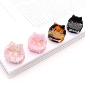 日式可爱小猫<span class=H>发夹</span>子发抓夹小号刘海夹边夹个性百搭简约发卡发<span class=H>爪子</span>