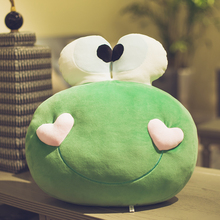 Frog doll plush toy doll lovely accompany you to sleep pillow Korean strange girl super lazy