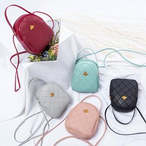 明星同款小蜜蜂新时尚百搭手提包少女韩版小包包休闲单肩斜跨女包
