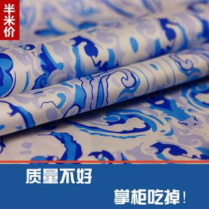 中国民族风弹力纯棉高级时装连衣裙旗袍服装DIY<span class=H>布料</span><span class=H>面料</span>包邮