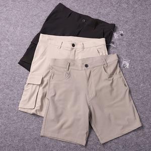 注意面料!你们喜欢的四面弹!夏季薄款男士休闲户外运动弹力短裤