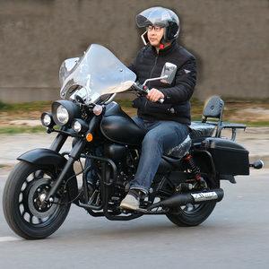 国四重机车太子摩托车整车 可上牌越野摩托车大越野哈雷复古跑车