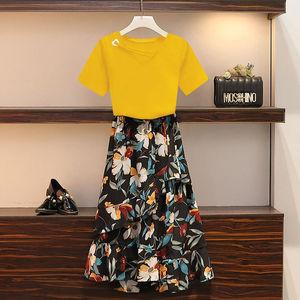 新款夏季韩版显瘦套装连衣裙