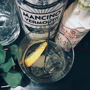 洋酒意大利进口MANCINO BLANCO VERMOUTH曼奇诺白味美思威末酒
