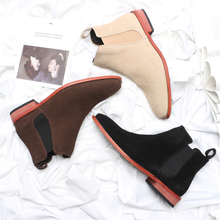 Spring Boots Male Superior Martin Boots British Wind Restoration Fashion Leisure Shoes Tip Chelsea Boots Male