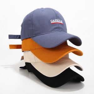 新款帽子女ins潮鸭舌帽韩版春夏季<span class=H>棒球帽</span>休闲百搭学生嘻哈帽街头