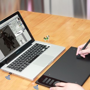 160数位板可连接手机手绘板电脑绘画<span class=H>绘图板</span>手写板写字输入板