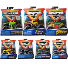 Monster Jam Crazy Monster Scooter Boy Racing Alloy Static Inertia Model Car Toys